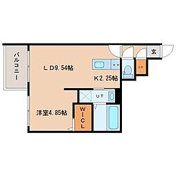 (仮称)北22西3MS B棟[3階]の間取り