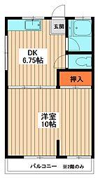 みどり荘[2階]の間取り
