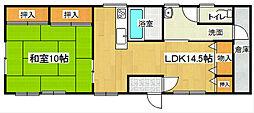 大垣邸[1階号室]の間取り