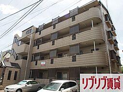 千葉県千葉市中央区鶴沢町の賃貸マンションの外観