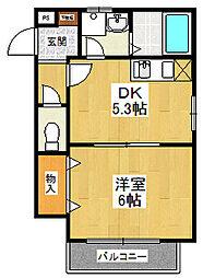 コニット武庫之荘[2階]の間取り