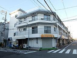 大阪府大阪市東住吉区杭全7丁目の賃貸アパートの外観