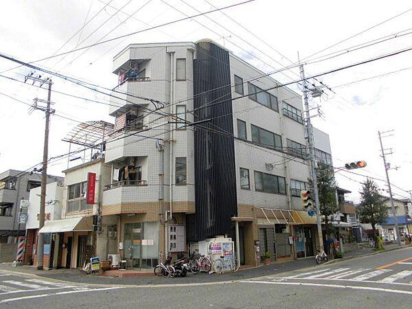 兵庫県尼崎市西長洲町2丁目の賃貸マンションの外観