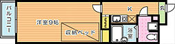第13エルザビル[7階]の間取り