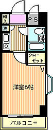ライオンズマンション相模原第6[413号室]の間取り