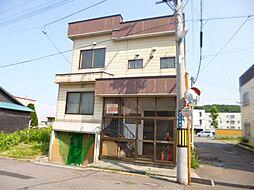北海道小樽市若松1丁目の賃貸アパートの外観
