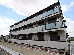 千葉県流山市市野谷の賃貸アパートの外観