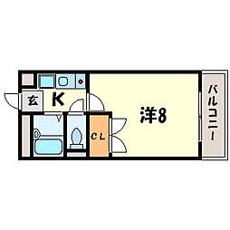 彩華IV[2階]の間取り
