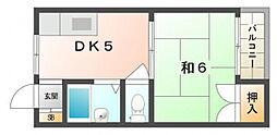 光ハウス[2階]の間取り