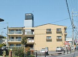 滋賀県大津市平津1丁目の賃貸マンションの外観