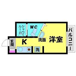 Collection関目弐番館[4階]の間取り