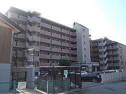 京都府宇治市五ケ庄折坂の賃貸マンションの外観