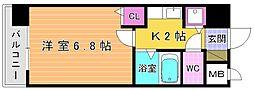 ライオンズマンション小倉駅南第3[903号室]の間取り