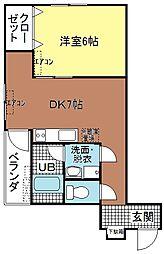 第2東洋ビル[405号号室]の間取り