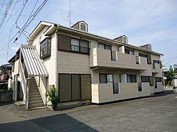 埼玉県本庄市東台2丁目の賃貸アパートの外観