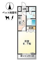 シャンピア山王浦[2階]の間取り