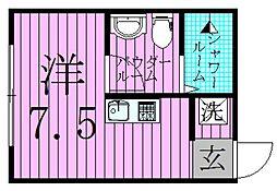 II−style足立舎人[2階]の間取り