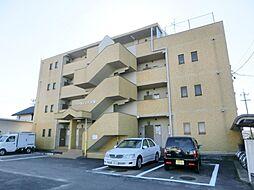 愛知県北名古屋市六ツ師松葉の賃貸マンションの外観