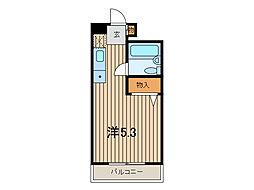 サンコート東浦和[2階]の間取り