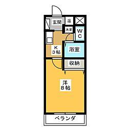 シフォン・ド・ヒロ[3階]の間取り