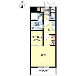 新潟県新潟市中央区本間町3丁目の賃貸マンションの間取り