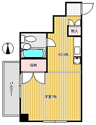 倉方ビル[2階]の間取り