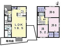 [一戸建] 大阪府堺市西区上野芝向ヶ丘町3丁 の賃貸【/】の間取り