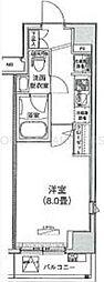 アイル東京深川[9階]の間取り