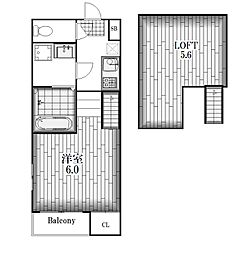 メゾンプラージュ[2階]の間取り