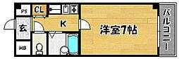 大阪府大阪市東淀川区菅原2の賃貸マンションの間取り