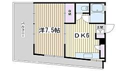 繁栄ビル[302号室]の間取り