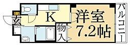 ミル・メゾンT2[1階]の間取り
