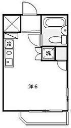 神奈川県横浜市保土ケ谷区瀬戸ケ谷町の賃貸マンションの間取り