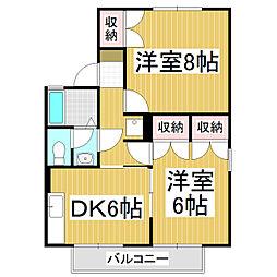 メゾン・NOMURA B棟[2階]の間取り