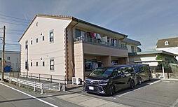 愛知県西尾市戸ケ崎3丁目の賃貸アパートの外観