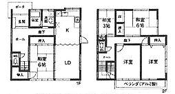 [一戸建] 兵庫県尼崎市塚口町4丁目 の賃貸【/】の間取り