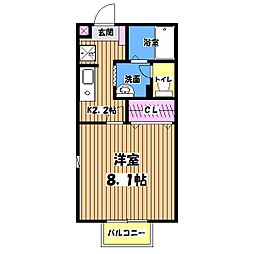 セジュール[2階]の間取り