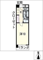アステール笠寺[3階]の間取り