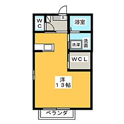メゾンプレミール[2階]の間取り