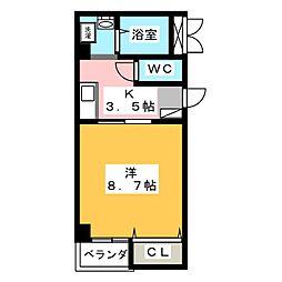 メゾン清須[2階]の間取り