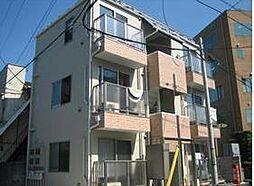 東京都練馬区羽沢2丁目の賃貸アパートの外観