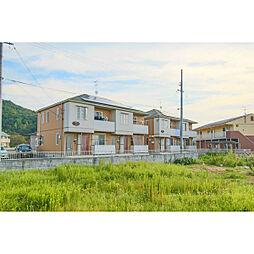 岡山県岡山市東区瀬戸町下の賃貸アパートの外観