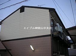 コーポかざみどり[2階]の外観