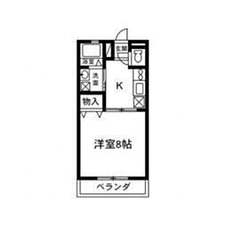 三和伊勢崎III[205号室]の間取り