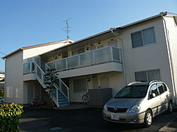 大阪府茨木市沢良宜東町の賃貸アパートの外観