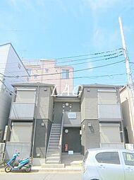 東京都江戸川区東瑞江3丁目の賃貸アパートの外観