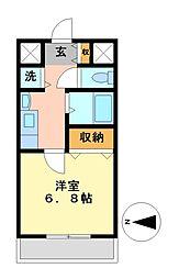 プレサンス泉セントマーク[7階]の間取り