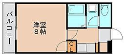 フェニックス原田ビルディングB[4階]の間取り