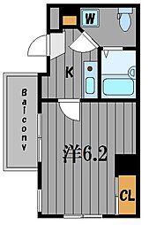 神奈川県横浜市神奈川区反町4丁目の賃貸マンションの間取り