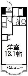 パークアベニュー札幌[403号室]の間取り